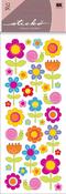 Happy Flowers Stickers