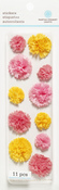 Pink Layered Pom Pom Stickers By Martha Stewart Crafts