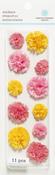 Pink Layered Pom Pom Stickers By Martha Stewart Crafts