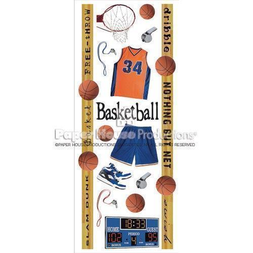 Basketball Stickers By Paper House