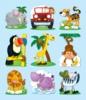Jungle Stickers By Carson-Dellosa