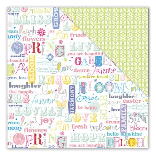 Springtime Sentiments Paper - Elizabeth Park