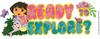 Dora Ready To Explore Title Sticker