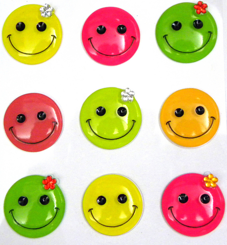 Smiley Faces Stickers By Jolee's Boutique