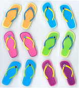 Flip Flop Repeat Stickers By Jolee's Boutique
