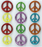 Peace Signs Stickers By Jolee's Boutique