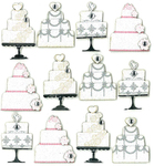Wedding Cake Repeat Stickers By Jolee's Boutique