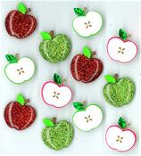 Cute Apple Stickers By Jolee's Boutique