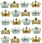 Crown Repeat Stickers By Jolee's Boutique