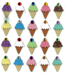 Ice Cream Repeat Stickers By Jolee's Boutique