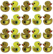 Duck Repeat Stickers By Jolee's Boutique