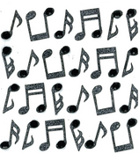 Music Note Stickers By Jolee's Boutique