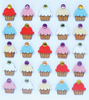 Cupcake Repeat Stickers By Jolee's Boutique