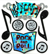 Music Stickers By Jolee's Boutique
