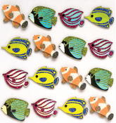 Fish Repeat Stickers By Jolee's Boutique