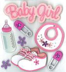Baby Girl Stickers By Jolee's Boutique