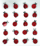 Lady Bugs Repeat Stickers By Jolee's Boutique