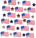 July 4th Repeat Stickers By Jolee's Boutique