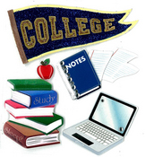 College Stickers By Jolee's Boutique