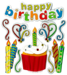 Happy Birthday Stickers By Jolee's Boutique