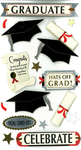 Graduate Celebrate Stickers By Jolee's Boutique