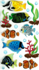Large Tropical Fish Stickers By Jolee's Boutique