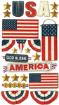 God Bless America Stickers By Jolee's Boutique