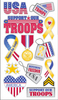 Support Our Troops Stickers By Sticko