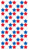 4th Of July Star Repeat Stickers By Sticko
