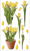 Yellow Tulips Stickers By Sticko