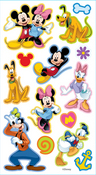 Mickey & Friends Puffy Stickers