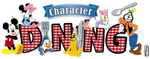 Disney Character Title Sticker