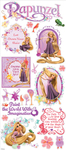 Rapunzel Stickers