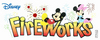 Disney Mickey Fireworks Title Stickers