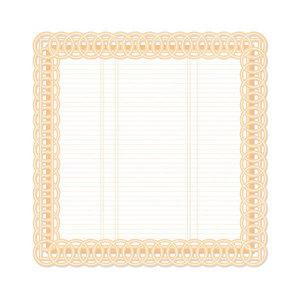 Fancy Die-cut Paper - Tre`s Elegant By We R Memory Keepers