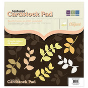 Tre`s Elegant Textured Cardstock Pad By We R Memory Keepers