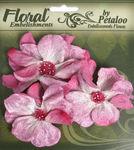 Mauve Velvet Wild Roses By Petaloo