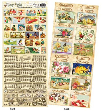 Calendar Booklet By Crafty Secrets