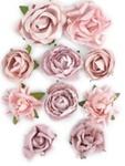 Dusty Pink Paper Blooms By KaiserCraft