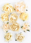 Buttercream Paper Blooms By KaiserCraft