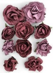 Cranberry Paper Blooms By KaiserCraft