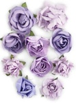 Amethyst Paper Blooms By KaiserCraft