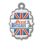 Great Britain Die-cut Tag By We R Memory Keepers