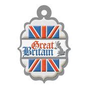 Great Britain Die-cut Tag By We R Memory Keepers