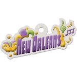 New Orleans Die-cut Tag By We R Memory Keepers