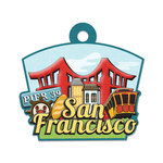 San Francisco Die-cut Tag By We R Memory Keepers