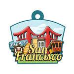 San Francisco Die-cut Tag By We R Memory Keepers