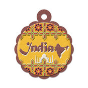 India Die-cut Tag By We R Memory Keepers