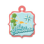 The Caribbean Die-cut Tag By We R Memory Keepers