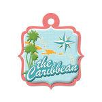 The Caribbean Die-cut Tag By We R Memory Keepers